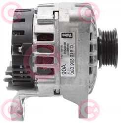 CAL15119 SIDE VALEO Type 12V 90Amp PR5