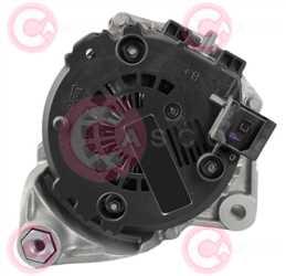 CAL15125 BACK VALEO Type 12V 180Amp PR6
