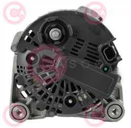 CAL15134 BACK VALEO Type 12V 120Amp PR6