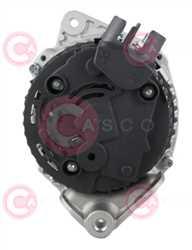 CAL15140 BACK VALEO Type 12V 80Amp PR6