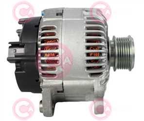 CAL15176 SIDE VALEO Type 12V 180Amp PFR6