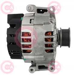 CAL15255 SIDE VALEO Type 12V 140Amp PFR6