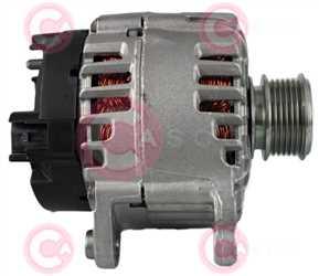 CAL15259 SIDE VALEO Type 12V 140Amp PFR6