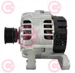 CAL15277 SIDE VALEO Type 12V 120Amp PR6