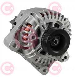 CAL15295 FRONT VALEO Type 12V 150Amp PR6