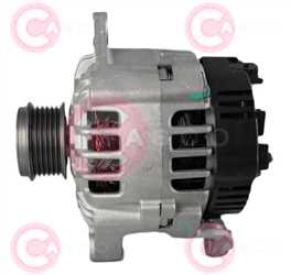 CAL15296 SIDE VALEO Type 12V 120Amp PR6