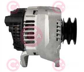 CAL15305 SIDE VALEO Type 12V 120Amp 2Ribs