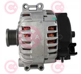 CAL15327 SIDE VALEO Type 12V 170Amp 6Ribs