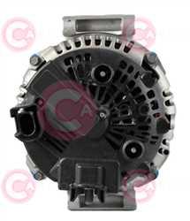CAL15331 BACK VALEO Type 12V 180Amp PFR7