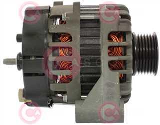CAL15333 SIDE VALEO Type 12V 75Amp