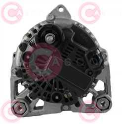 CAL15336 BACK VALEO Type 12V 110Amp PFR6