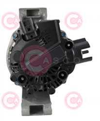 CAL15353 BACK VALEO Type 12V 80Amp PR6