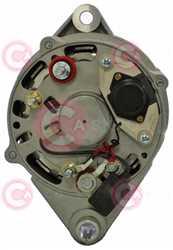 CAL15361 BACK VALEO Type 12V 70Amp PV1