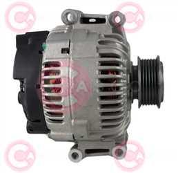 CAL15365 SIDE VALEO Type 12V 150Amp PFR6
