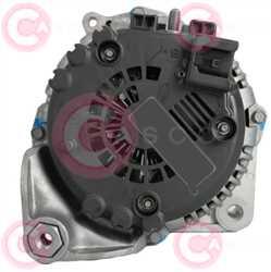 CAL15367 BACK VALEO Type 12V 180Amp PR7