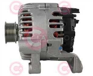 CAL15387 SIDE VALEO Type 12V 150Amp PR6