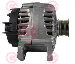CAL15391 SIDE VALEO Type 12V 120Amp PR7