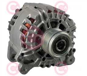 CAL15399 FRONT VALEO Type 12V 180Amp PFR6