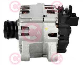 CAL15480 SIDE VALEO Type 12V 150Amp PFR6