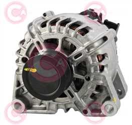 CAL15482 FRONT VALEO Type 12V 120Amp PFR6
