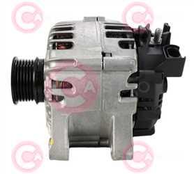 CAL15482 SIDE VALEO Type 12V 120Amp PFR6