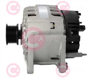 CAL15497 SIDE VALEO Type 12V 120Amp PR6