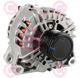 CAL15520 FRONT VALEO Type 12V 150Amp PFR6