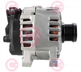 CAL15520 SIDE VALEO Type 12V 150Amp PFR6