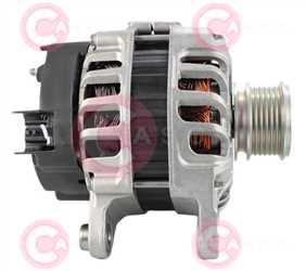 CAL15534 SIDE VALEO Type 12V 120Amp PFR6
