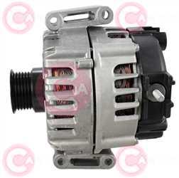 CAL15539 SIDE VALEO Type 12V 180Amp PV6