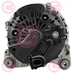 CAL15545 BACK VALEO Type 12V 180Amp PV6