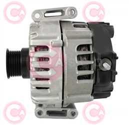 CAL15546 SIDE VALEO Type 12V 220Amp PV6