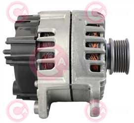 CAL15550 SIDE VALEO Type 12V 220Amp PFR6