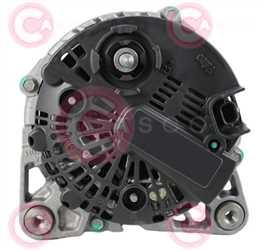 CAL15557 BACK VALEO Type 12V 160Amp PFR6