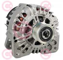 CAL15557 FRONT VALEO Type 12V 160Amp PFR6