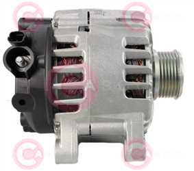 CAL15559 SIDE VALEO Type 12V 150Amp PFR6