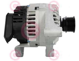 CAL15566 SIDE VALEO Type 12V 115Amp PV6