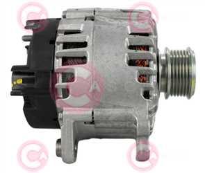 CAL15569 SIDE VALEO Type 12V 140Amp PFR6