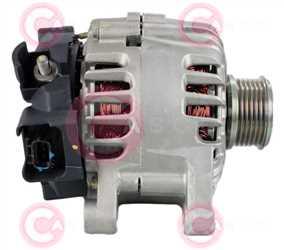 CAL15571 SIDE VALEO Type 12V 120Amp PFR6