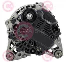 CAL15575 BACK VALEO Type 12V 150Amp PFR6
