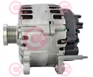 CAL15577 SIDE VALEO Type 12V 140Amp PFR6