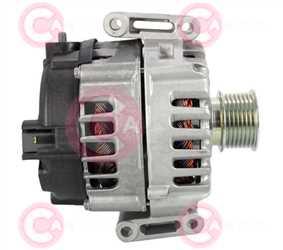 CAL15578 SIDE VALEO Type 12V 200Amp PR7