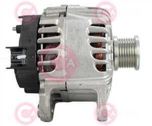 CAL15587 SIDE VALEO Type 12V 120Amp PFR7
