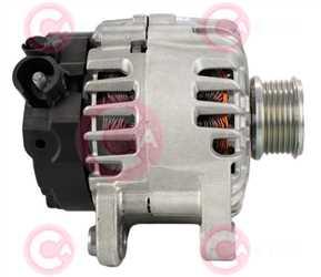CAL15590 SIDE VALEO Type 12V 120Amp PFR6