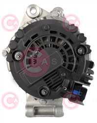 CAL15591 BACK VALEO Type 12V 180Amp