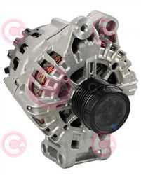 CAL15591 FRONT VALEO Type 12V 180Amp