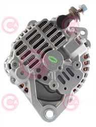 CAL20141 BACK HITACHI Type 12V 100Amp 6Ribs