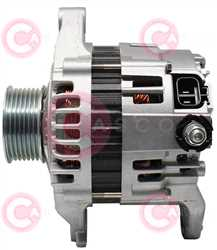 CAL20243 SIDE HITACHI Type 12V 90Amp PR7