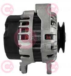CAL32120 SIDE MANDO Type 12V 90Amp 1Ribs