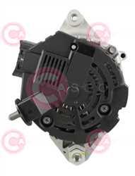 CAL32162 BACK MANDO Type 12V 70Amp PR5